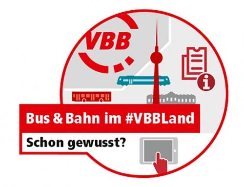 Das #VBB-Team informiert  Gesucht: Aktive für den FAHRGASTDialog im VBB